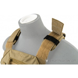 Lancer Tactical Speedster Adaptive Plate Carrier - TAN