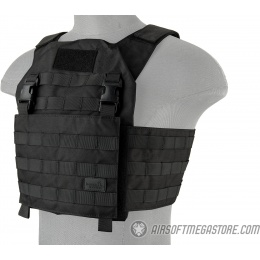 Lancer Tactical Adaptive Recon Tactical Vest - BLACK