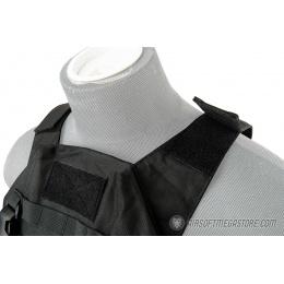 Lancer Tactical Adaptive Recon Tactical Vest - BLACK