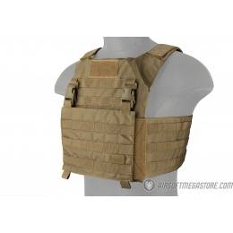 Lancer Tactical Adaptive Recon Tactical Vest - TAN