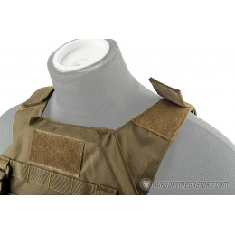 Lancer Tactical Adaptive Recon Tactical Vest - TAN