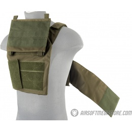 Lancer Tactical Adaptive Recon Tactical Vest - OD GREEN
