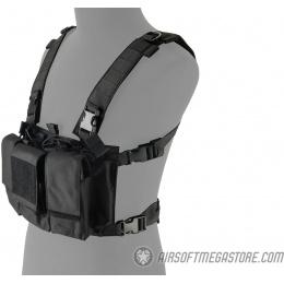Lancer Tactical Adaptive Multi-Purpose Slim Chest Rig - BLACK