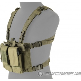 Lancer Tactical Adaptive Multi-Purpose Slim Chest Rig - OD GREEN