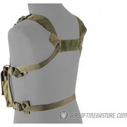 Lancer Tactical Adaptive Multi-Purpose Slim Chest Rig - OD GREEN