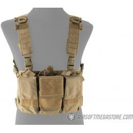 Lancer Tactical Adaptive Multi-Purpose Slim Chest Rig - TAN