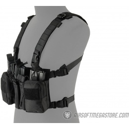 Lancer Tactical Adaptive Sniper Chest Rig - BLACK