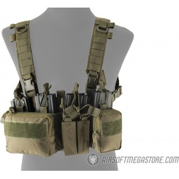 Lancer Tactical Adaptive Sniper Chest Rig - OD GREEN