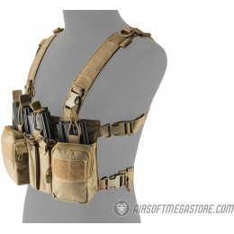 Lancer Tactical Adaptive Sniper Chest Rig - TAN