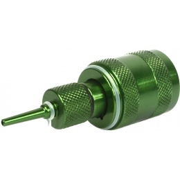 Sapien Arms Airsoft Anodized Green Propane Adaptor w/ Silicon Oil Port