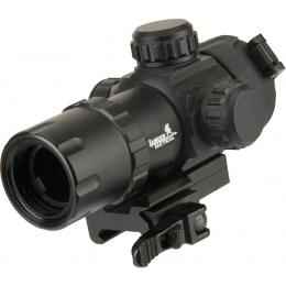 Lancer Tactical QD Red Dot Adjustable Dot Sight - BLACK