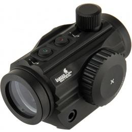 Lancer Tactical 1 x 30 Mini Red/Green Dot Sight - BLACK