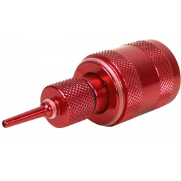 Sapien Arms Airsoft Anodized Red Propane Adaptor w/ Silicon Oil Port