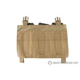 Lancer Tactical Adaptive Hook and Loop Triple M4/Pistol Mag Pouch - TAN