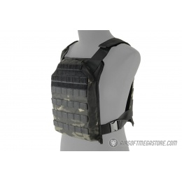 Lancer Tactical 1000D Primary Plate Carrier (PPC) - CAMO BLACK