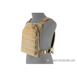 Lancer Tactical 1000D Primary Tactical Vest (PPC) - TAN