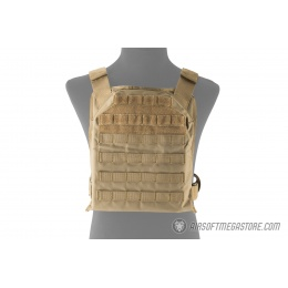 Lancer Tactical 1000D Primary Tactical Vest (PPC) - TAN
