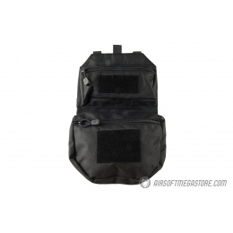 Lancer Tactical Foldable MOLLE Utility Pack - BLACK