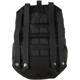 Lancer Tactical Foldable MOLLE Utility Pack - BLACK