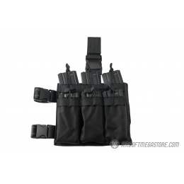 Lancer Tactical Drop Leg Six M4/M16 Magazine Panel - BLACK