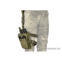 Lancer Tactical Drop Leg Six M4/M16 Magazine Panel - OD GREEN