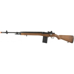 Echo1 Faux Wood M14 AEG w/ Battery and Charger - WOOD
