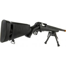 Echo1 M28 Bolt Action Sniper Rifle w/ Bipod - BLACK