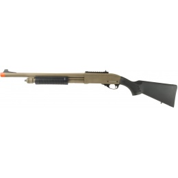 JAG Arms Scattergun HD Airsoft Gas Shotgun (Standard Tube) - TAN