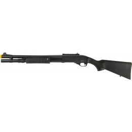 JAG Arms Scattergun HDS Airsoft Gas Shotgun (Extended Tube) - BLACK