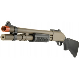 JAG Arms Scattergun HDS Airsoft Gas Shotgun (Extended Tube) - TAN