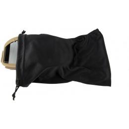 Lancer Tactical AERO Protective Tan Airsoft Goggles - SMOKE/YELLOW/CLEAR LENS