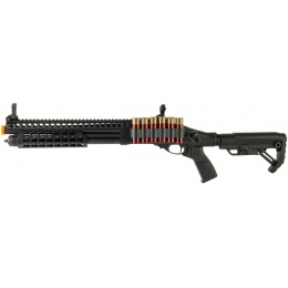 JAG Arms Scattergun SPX2 Airsoft Gas Shotgun (Extended Tube) - BLACK