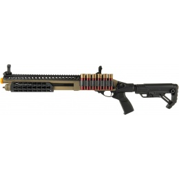 JAG Arms Scattergun SPX2 Airsoft Gas Shotgun (Extended Tube) - TAN