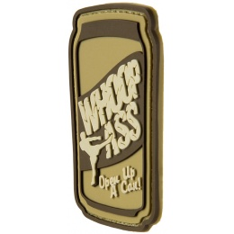 G-Force Open A Can Of Whoop A** PVC Morale Patch - TAN