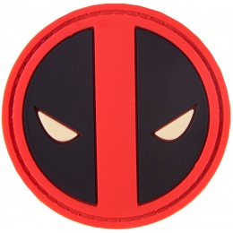 G-Force Death Pond PVC Morale Patch - BLACK/RED