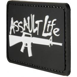G-Force Assault Life PVC Morale Patch - BLACK