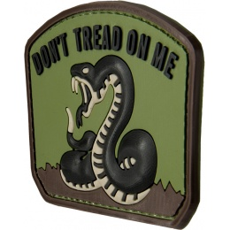 G-Force Don't Tread On Me Morale Patch - OD GREEN