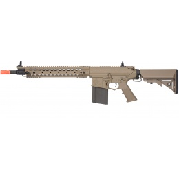 ARES Knight's Armament Full Metal SR25-M110K Airsoft AEG - DARK EARTH