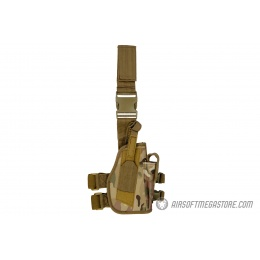 Lancer Tactical 1000D Nylon Drop Leg Holster - CAMO