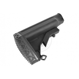 JG M4 / M16 Airsoft Retractable Crane Stock w/ Rubber Shoulder Pad