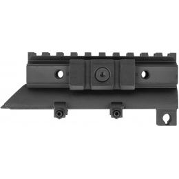 NcStar SKS Receiver Cover Tri-Mount Optics Rail - BLACK