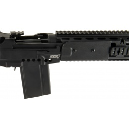 Echo1 M14 Combat Master Battle Rifle Metal Airsoft AEG - BLACK