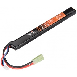 Lancer Tactical 7.4V 1300 mAh 25C LiPo Airsoft Stick Battery
