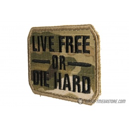 G-Force Live Free or Die Hard Embroidered Morale Patch