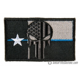 G-Force Texas Punisher Embroidered Morale Patch