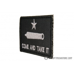 G-Force Come and Take It Embroidered Morale Patch - BLACK