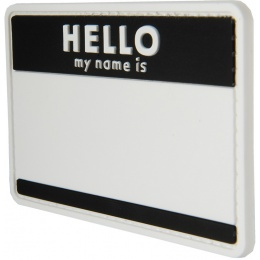G-Force Hello My Name Is PVC Morale Patch
