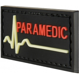 G-Force Glow-in-the-Dark Paramedic Large Patch - BLACK