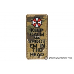 G-Force Keep Calm and Shoot 'Em in the Head Morale Patch