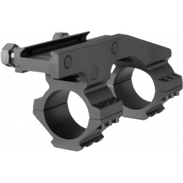 Ranger Armory Aluminum 30mm Scope Mount w/ Picatinny Mount - BLACK